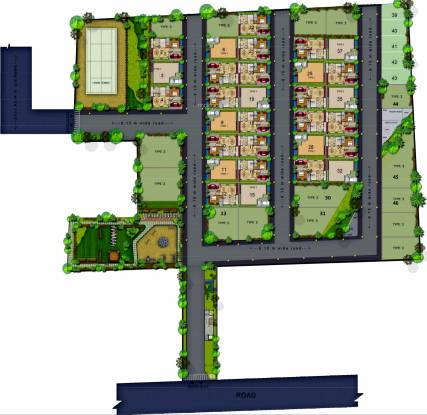 Citrus Polaris Layout Plan