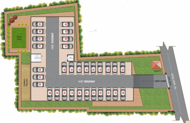 Jay Jay Residency Cluster Plan