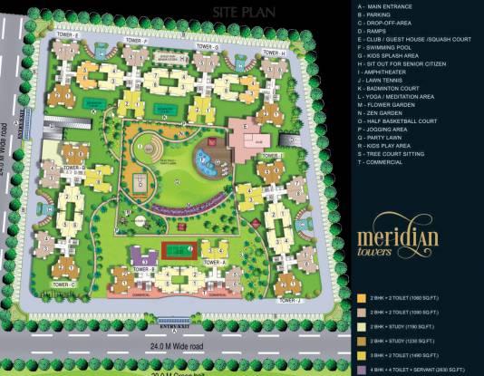 VVIP Meridian Tower Site Plan