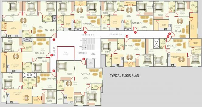 Sriven Rag Serenity Cluster Plan