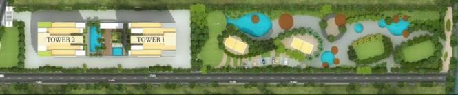 Kolte Patil 24K Atria Site Plan