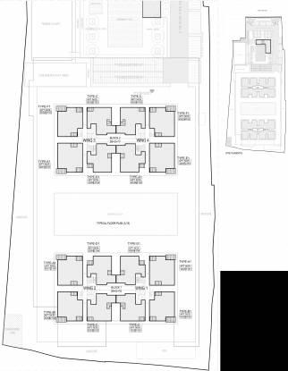Sobha Palm Court Cluster Plan