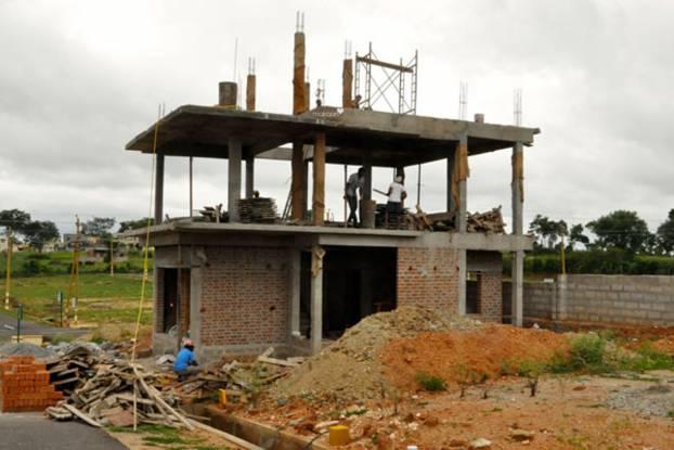 Hegde Silver Springs Villas Construction Status