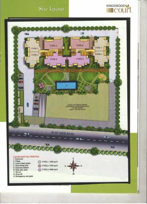 Kingswood Court Site Plan