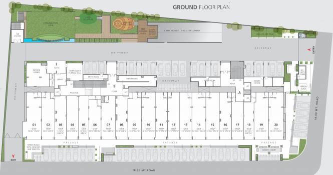 Nishant Ratnaakar Atelier Cluster Plan