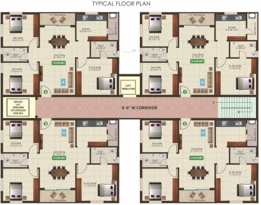 Aditya Aditya Heights Cluster Plan