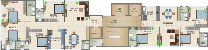 Samyakth BIiss Cluster Plan