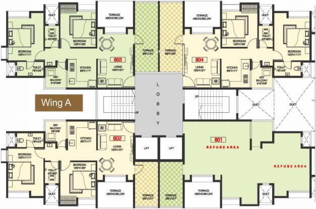 Venkatesh Joy Nest Cluster Plan