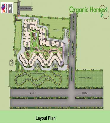 Rise Organic Homes Layout Plan