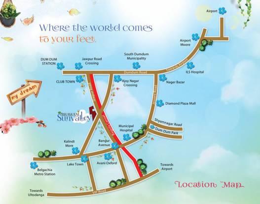 Bhawani Sunvalley Location Plan