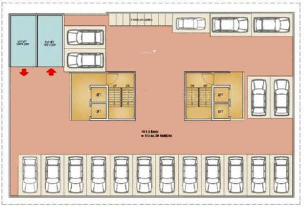 Natasha Enclave Cluster Plan