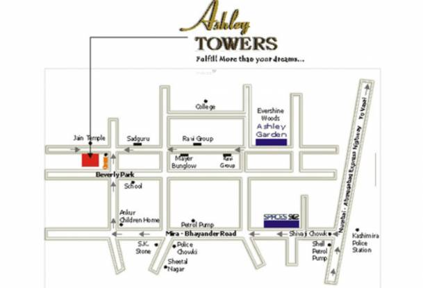 Space Ashley Tower Location Plan
