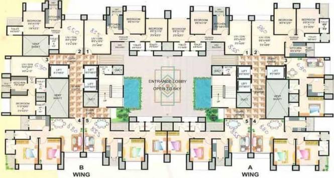 Good Shepherd Residency Cluster Plan