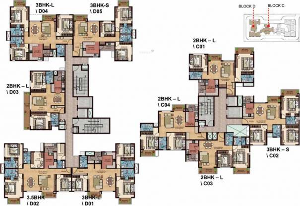 BCD Paradiso Cluster Plan