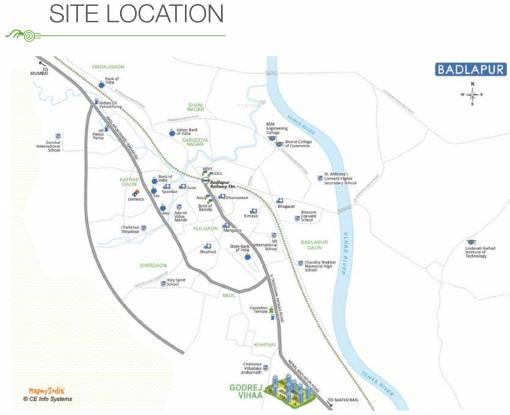 Godrej Vihaa Location Plan