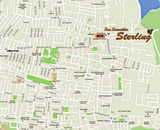 Sumukha Sterling Location Plan