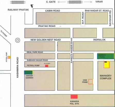 Mahadev Mahadev Complex Location Plan