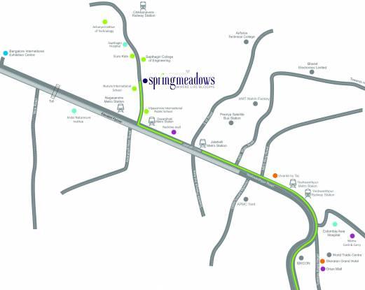 Concorde Spring Meadows Location Plan