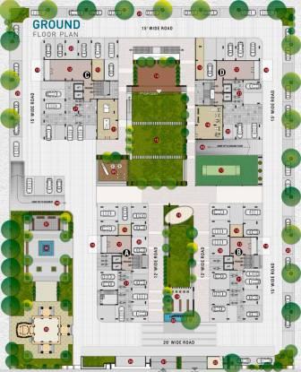 Western Sankheshwara Heights Cluster Plan
