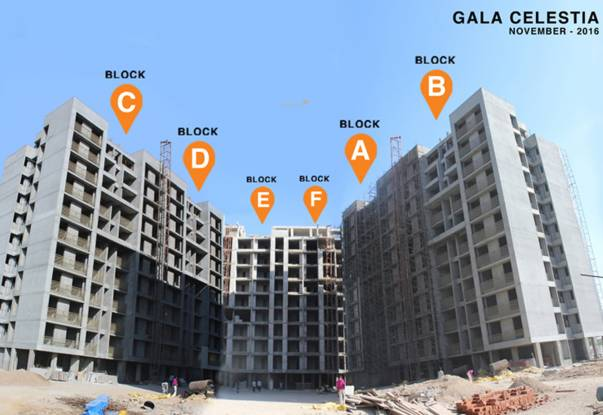Gala Celestia Construction Status