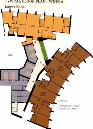 Lodha Kiara Cluster Plan