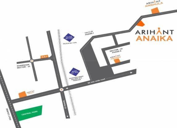 Arihant Anaika Location Plan
