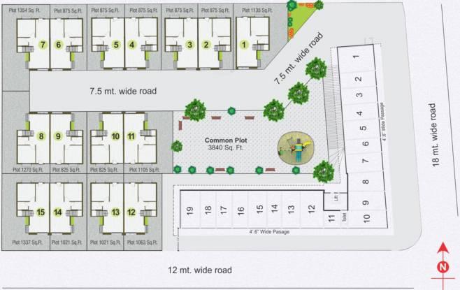 Ratnakar Resicom Site Plan