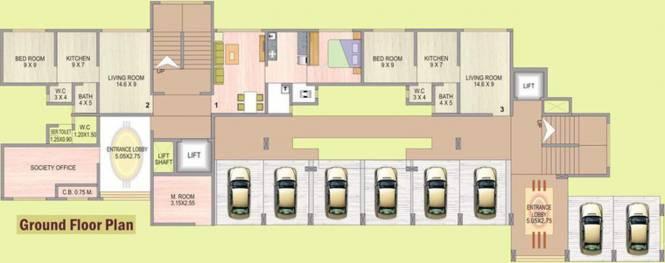 Darshan Darshan Tower Cluster Plan