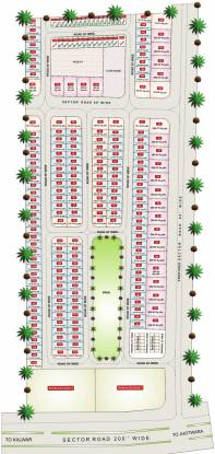Krishna Kunj Villas Layout Plan