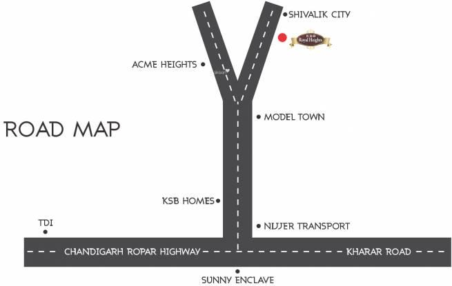 Soni Royal Heights Location Plan