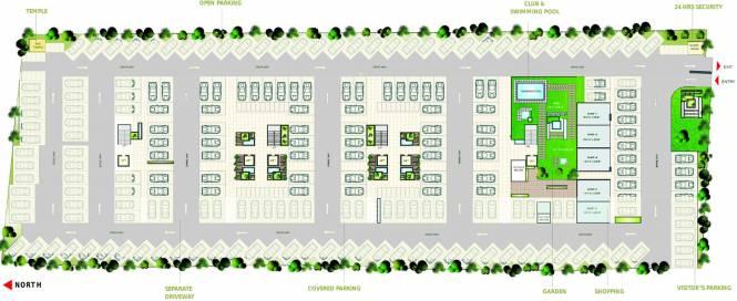 Arihant Dynasty Cluster Plan