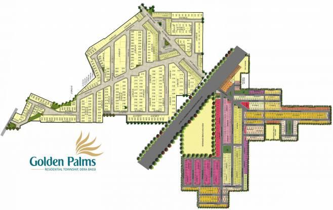 Ubber Golden Palm Apartments Layout Plan