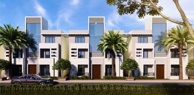 Ubber Golden Palm Apartments Elevation