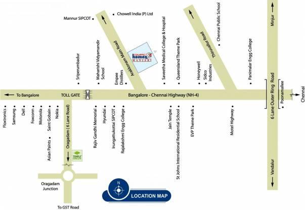 Arun Manjari Location Plan