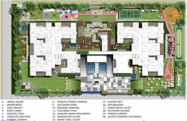Northstar District 1 Site Plan