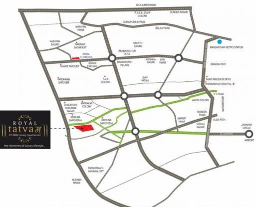 Kotecha Royal Tatvam Location Plan