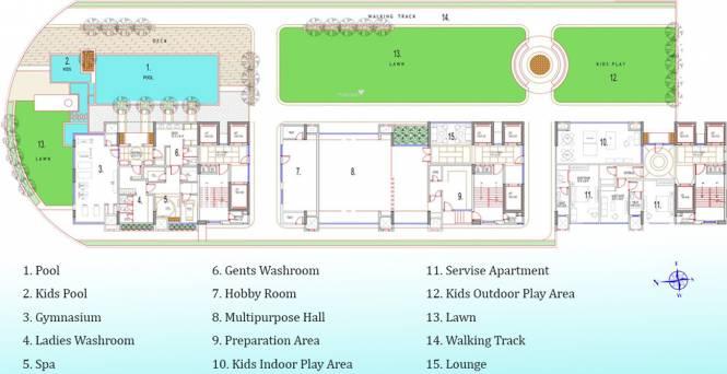 Satyam Springs Cluster Plan