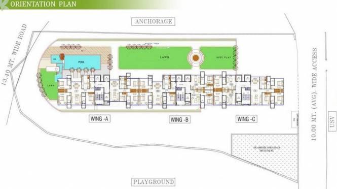Satyam Springs Site Plan