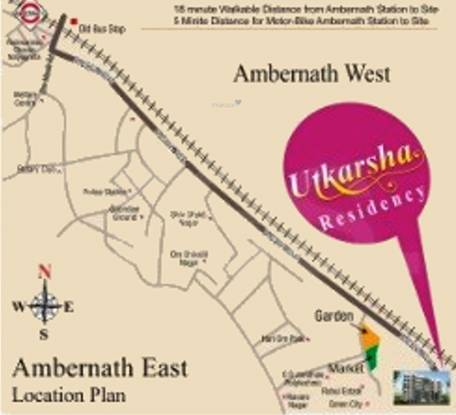 Utkarsh Residency Location Plan