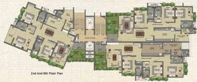 Malabar Grand Oak Cluster Plan