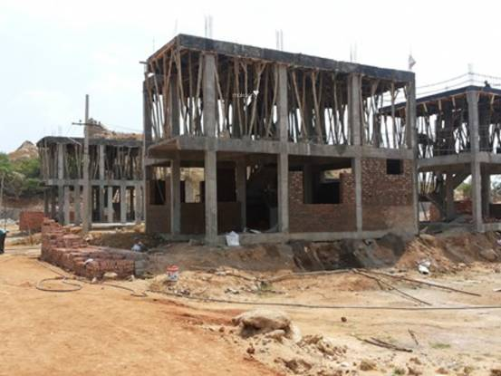 Ravella Srinivasa Lake View Villas Construction Status