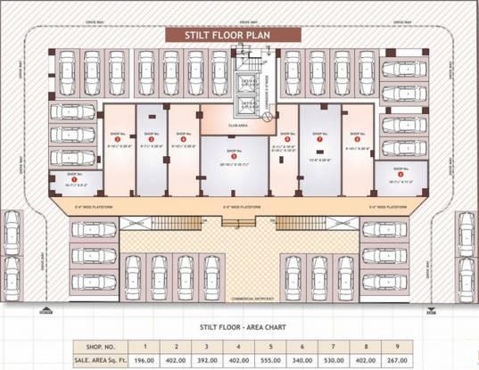 Shivgyan Residency Cluster Plan