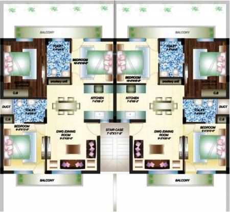 Primary Arcadia Green Homes Cluster Plan