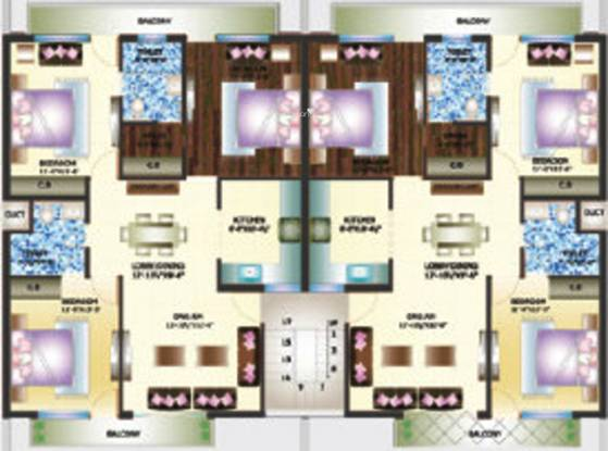 Primary Arcadia Green Home II Cluster Plan