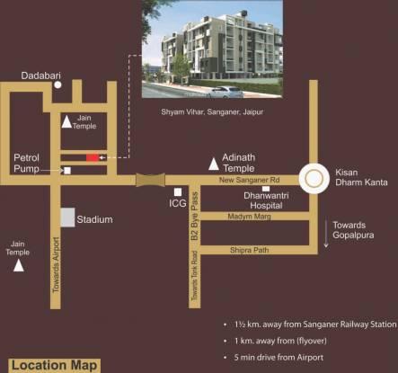 Virasat Affluence Location Plan