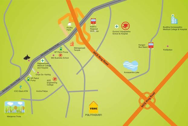 VBHC Palmhaven II Location Plan