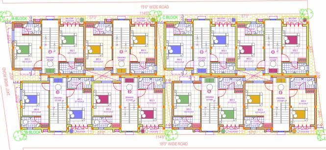 Vismaya Floy Layout Plan