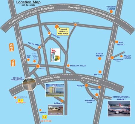 JB Resorts Location Plan
