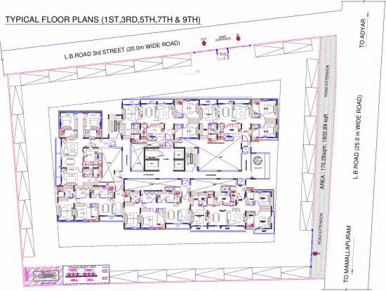 Olympia Jayanthi Residences Cluster Plan