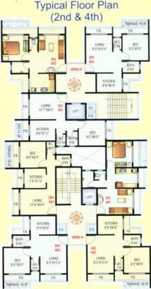 Saraswati Enclave Cluster Plan